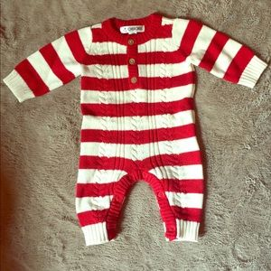 *SOLD* Knit baby outfit
